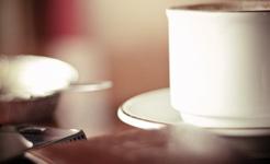 kawa z mlekiem